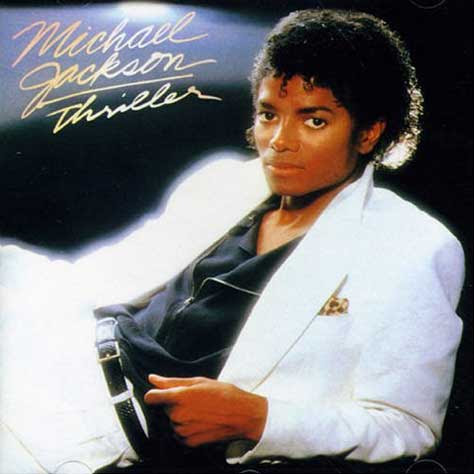 Portada del Thriller de Michael Jackson