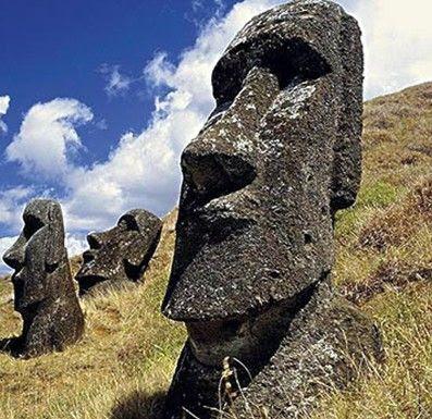 復活島巨石像