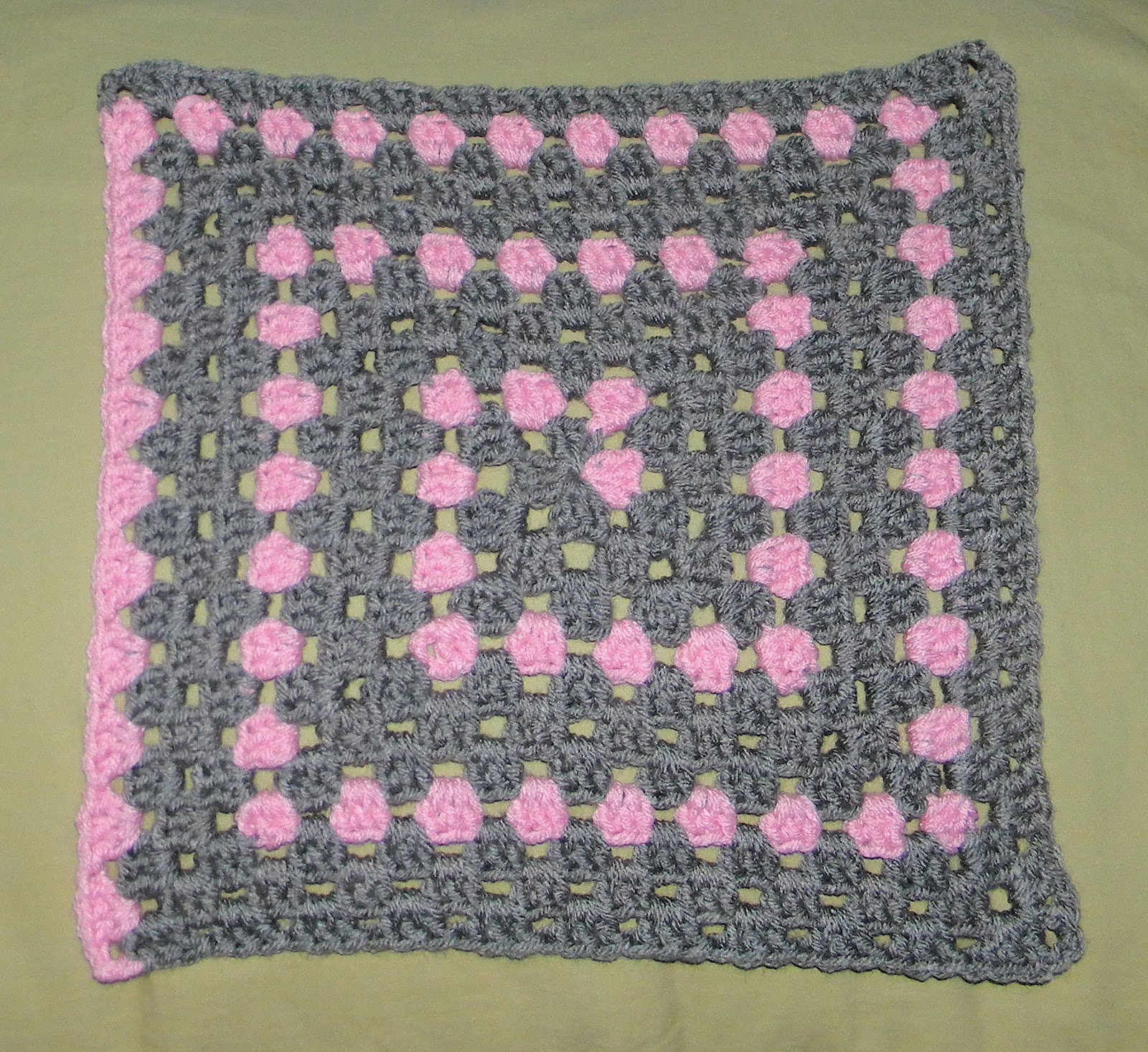 Free Crochet Pattern Spiral Granny Square : SmoothFox Crochet and Knit: Testers Pictures of Foxs ...