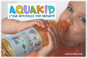 aquakid eau pour enfant