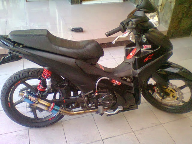 modifikasi honda revo 110