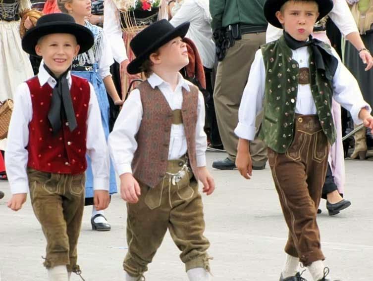 Баварская одежда