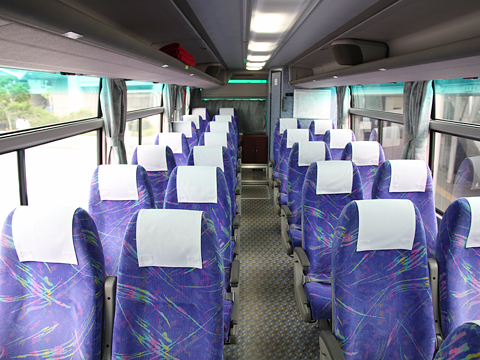 JR四国バス「黒潮エクスプレス」 644-1950 車内