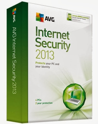 Free Download Latest Version of  AVG Internet Security 2013 v.13.0 Built 2890 (x86-x64) Incl. Keygen+Serial Antivirus Software at Alldownloads4u.Com