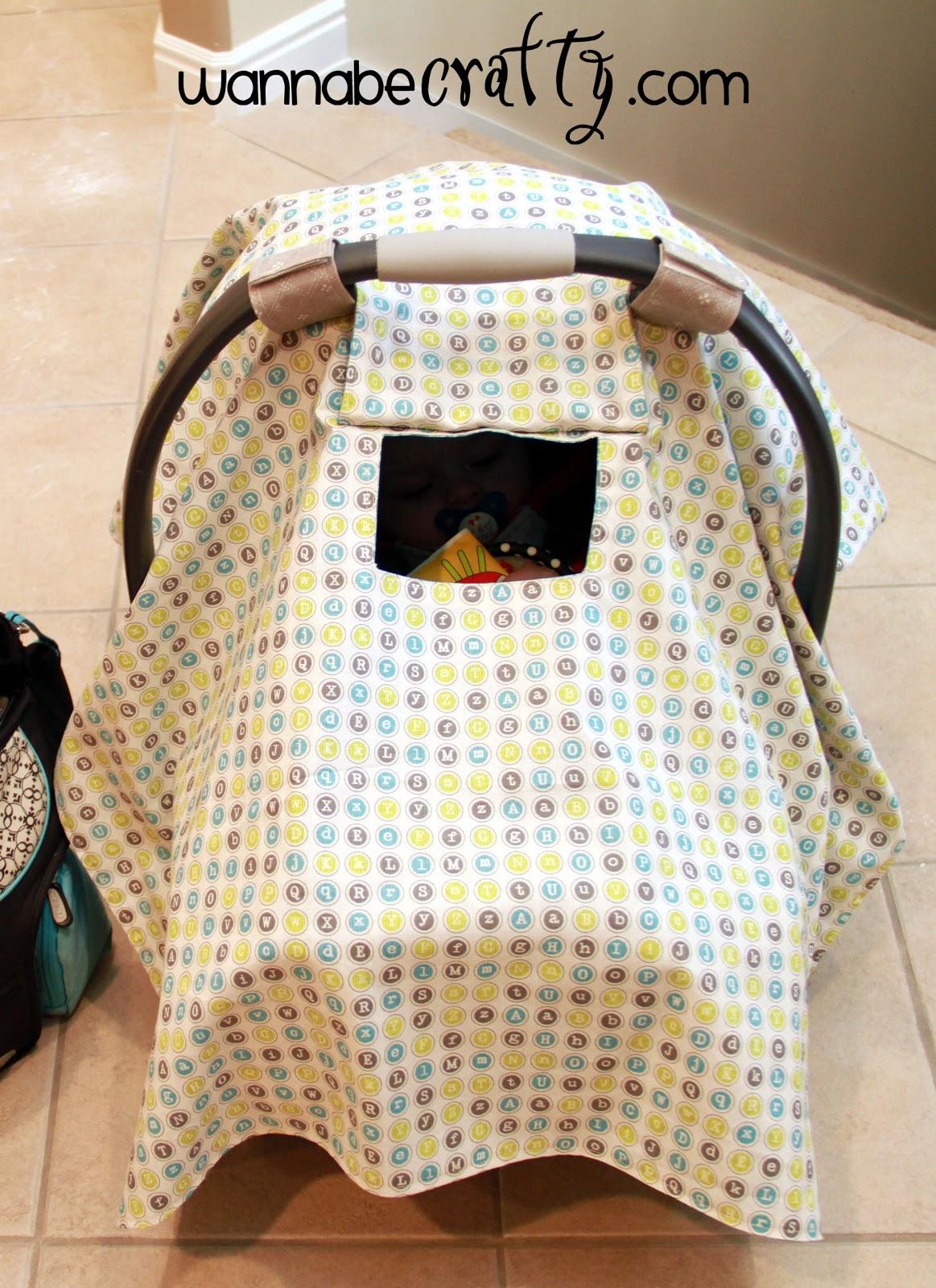 Peek A Boo Car Seat Cover