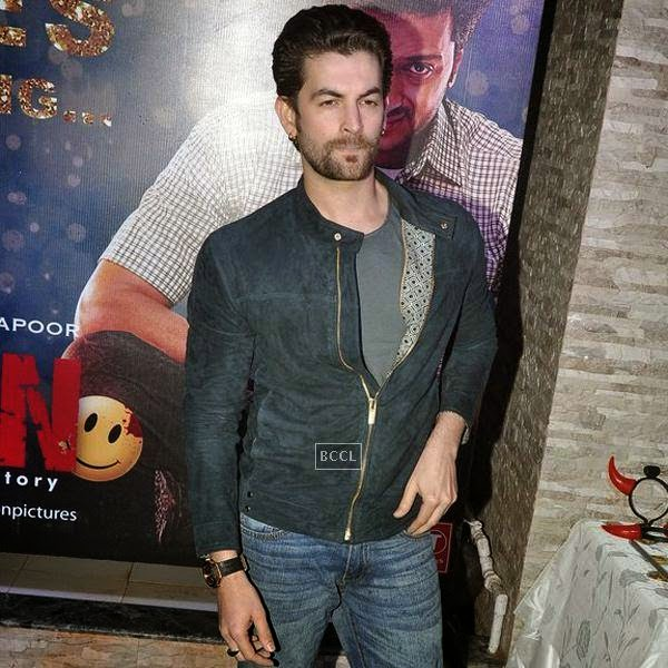 Neil Nitin Mukesh during the success party of Bollywood movie 'Ek Villain', held at Ekta Kapoor's residence on July 15, 2014.(Pic: Viral Bhayani)