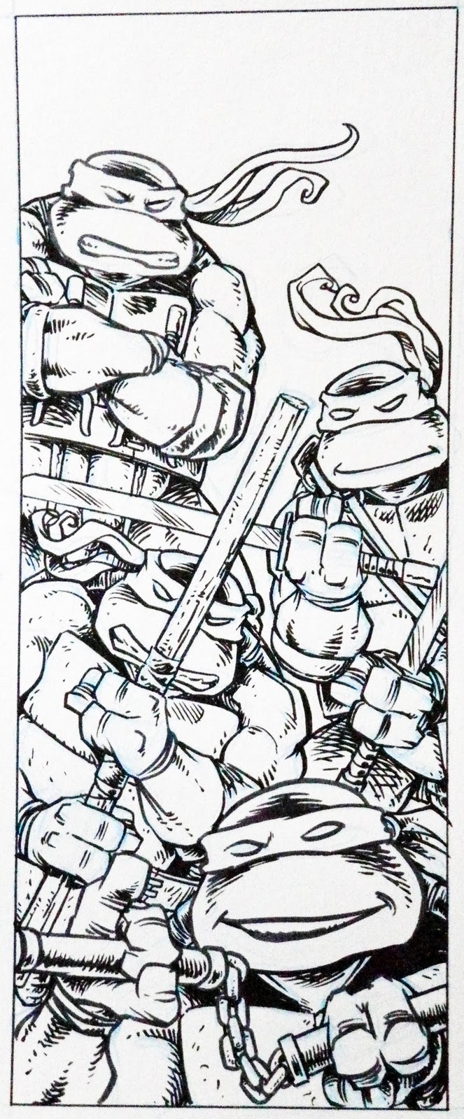 Tmnt Lair Coloring Pages
