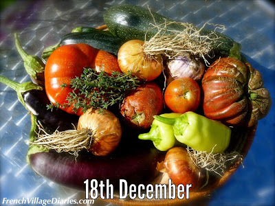 French Village Diaries Ratatouille recipe advent calendar a to z french food