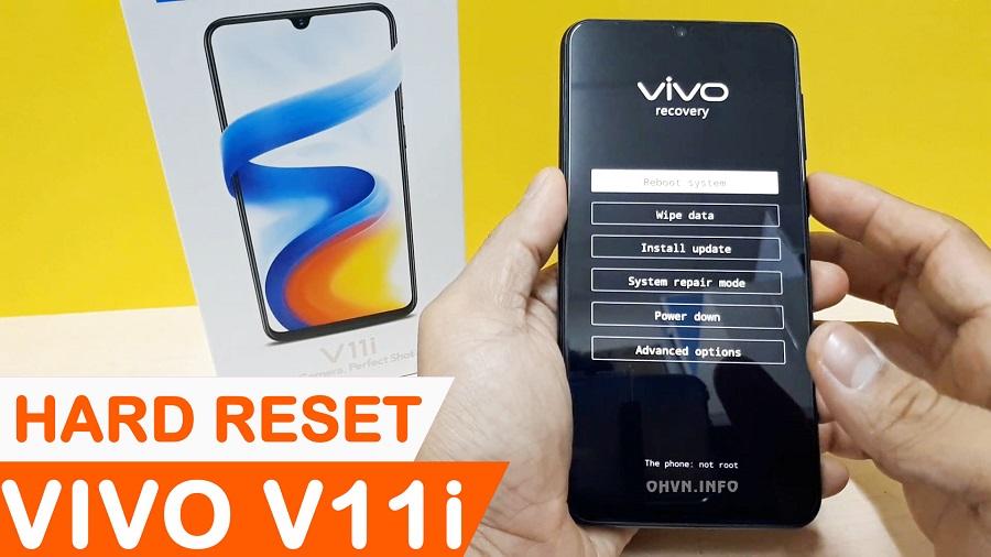 Hướng dẫn Hard Reset Vivo V11i
