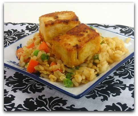 general tso tofu veggie fried rice