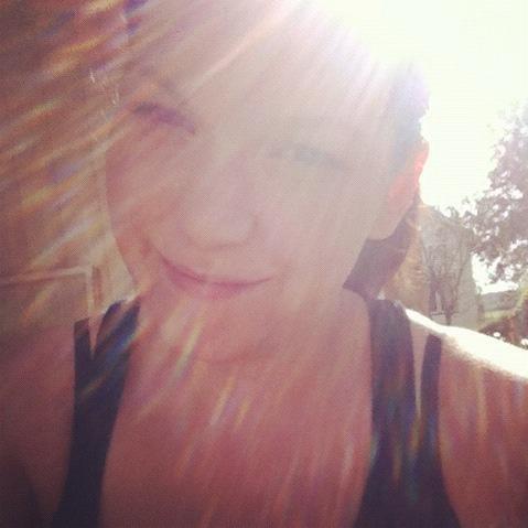 Solen är perfekt ikväll!