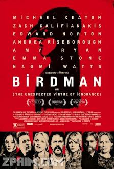 Người Chim - Birdman (2014) Poster