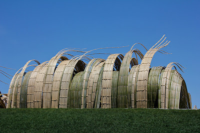 Bamboo Installations at Denver Botanic Gardens