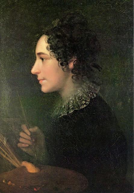 Marie Ellenrieder - Self-Portrait 1819.