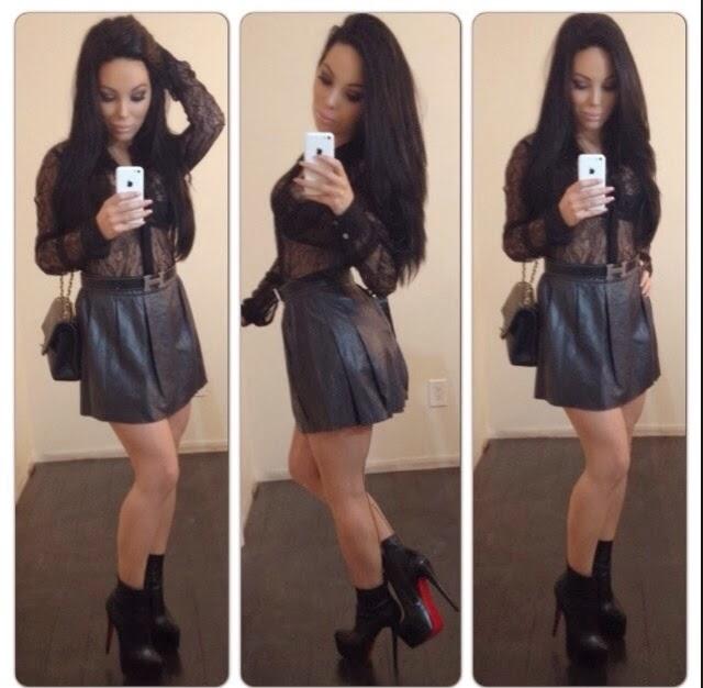 Sheer Black Blouse Trend 15