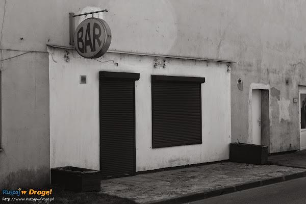 Łeba - zamknięty bar