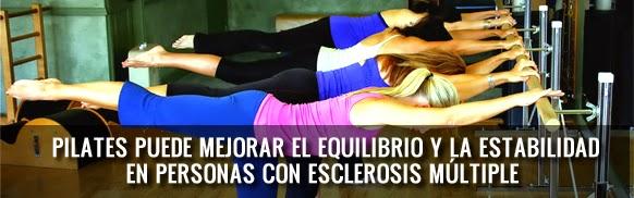 Pilates puede mejorar el equilibrio y la estabilidad de personas con esclerosis múltiple