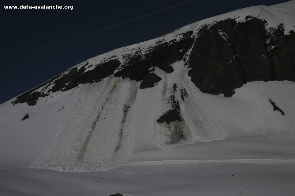 Avalanche Maurienne, secteur Grand Galibier, Roche Olvéra (Granges du Galibier) - Photo 1