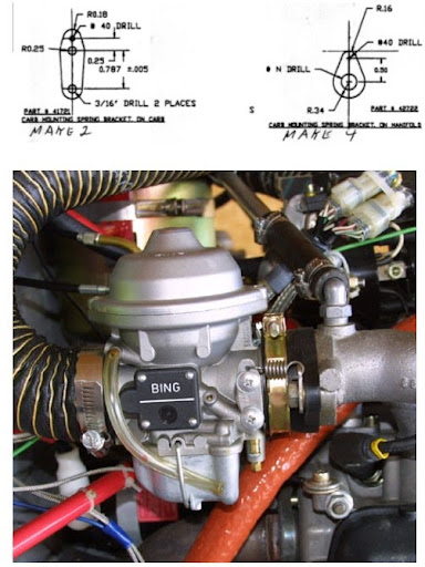 Carb rubber connecting sockets 912 Rotax engines [Archive