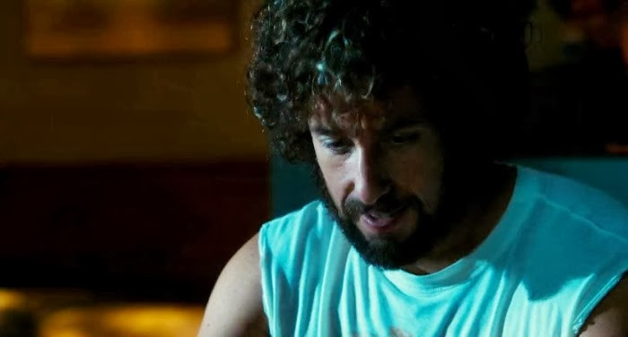 Screen Shot Of Hollywood Movie You Don't Mess with the Zohan (2008) In Hindi English Full Movie Free Download And Watch Online at Alldownloads4u.Com