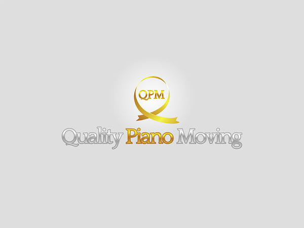 quality piano moving logo design