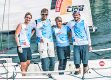 J/70 Germany sailing team- on Lake Constance, Germany