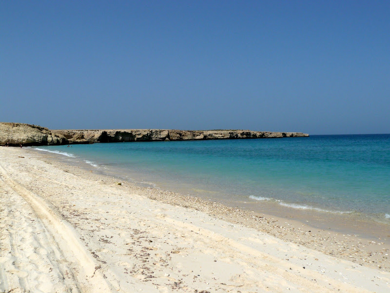 Oman White Beach