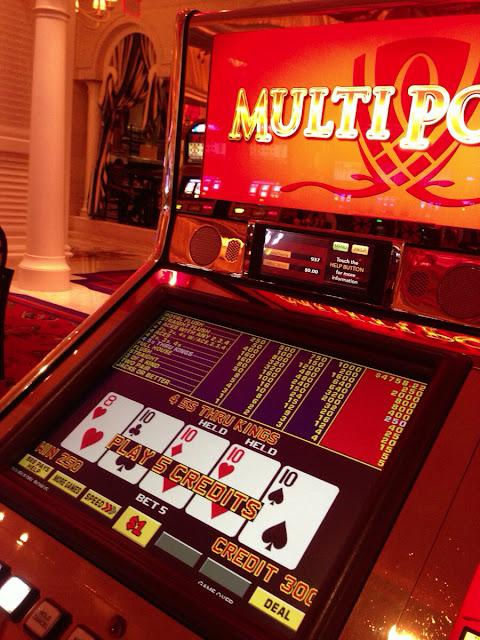 Wynn Video Poker Quad