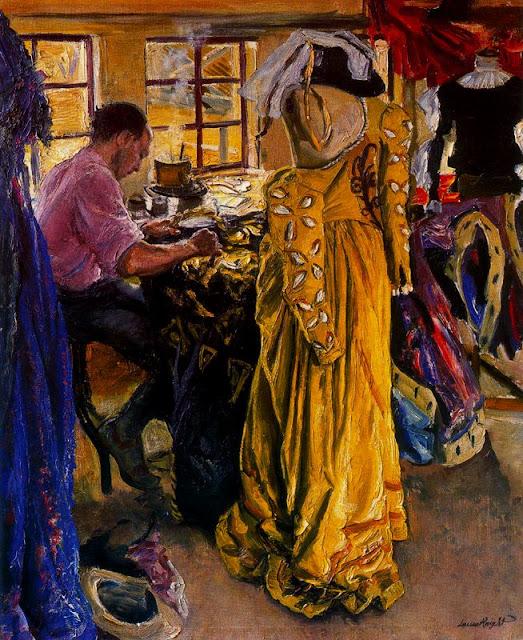 Laura Knight - The Yellow Dress