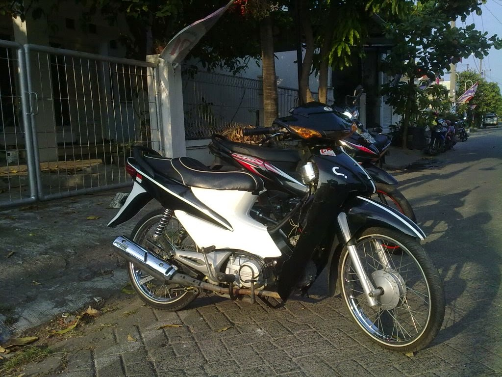 Modifikasi Motor Supra X 125 Drag