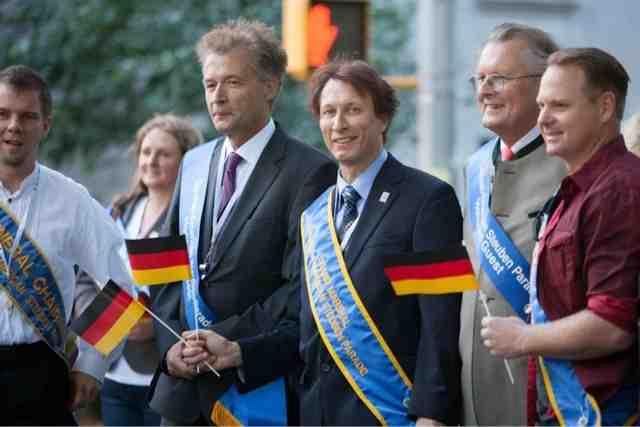 Nik Wallenda Steuben Parade