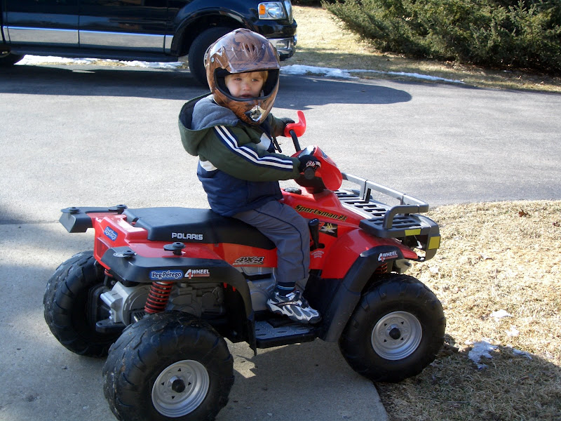 Wanted: 50cc ATV for young son - Polaris ATV Forum