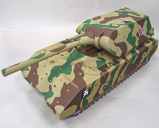 Super Heavy Tank Papercraft