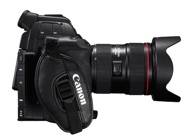 Canon c100 cine