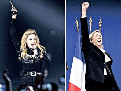 Madonna disaman gara-gara swastika