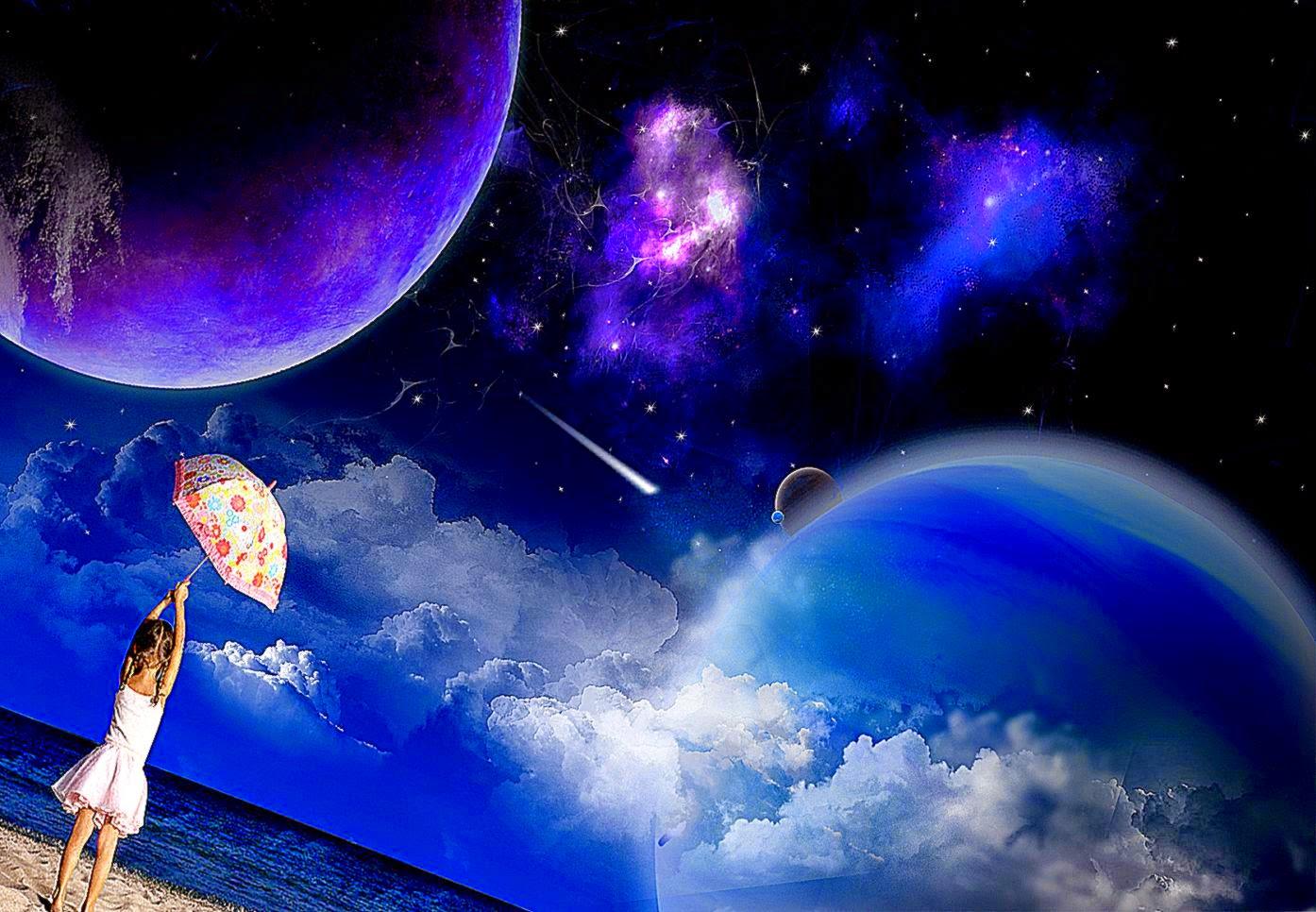 3d Space Background Wallpaper: 3D Art Space Wallpapers Hd Desktop