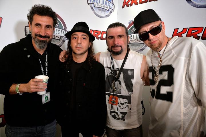 System of a Down irá tocar novamente no The Forum em 2015