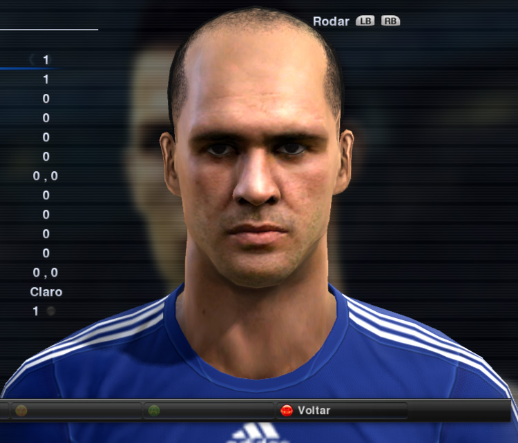 Marcos Face - PES 2012