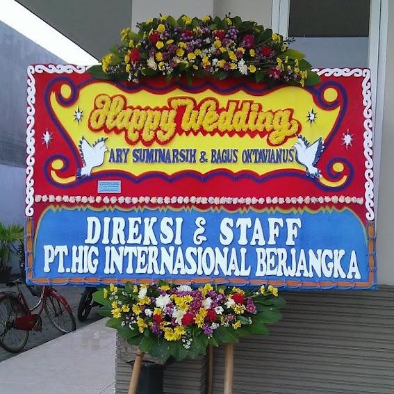 Karangan Bunga Happy Wedding Solo - Pak Jokowi 3
