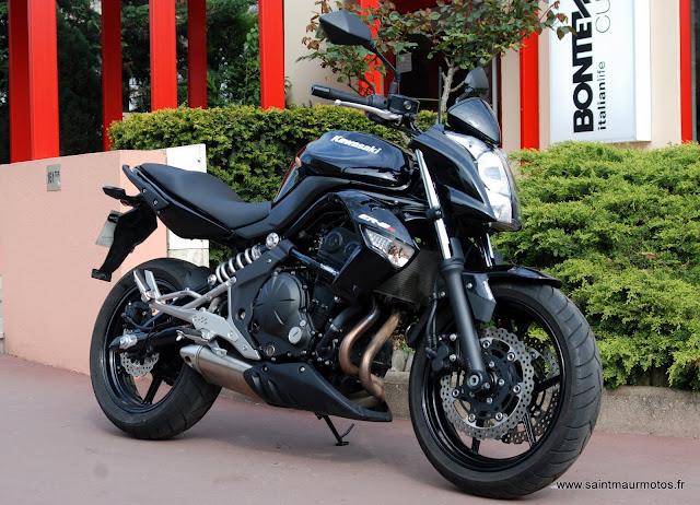Occasion Kawasaki Er6n Abs Noire 2011 9300kms Vendue Saint
