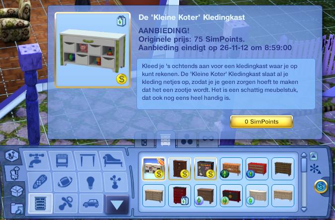 De Sims 3 Store gratis downloads