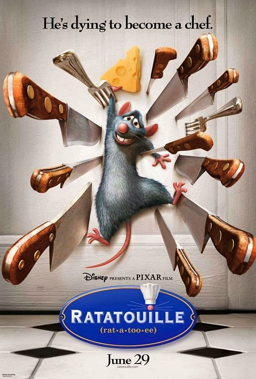 Poster Of Ratatouille (2007) Full Movie Hindi Dubbed Free Download Watch Online At Alldownloads4u.Com