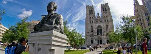 Bruselas Valonia: Catedral de Bruselas