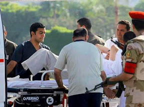 Terkini! Gambar Husni Mubarak Selepas Pembebasan