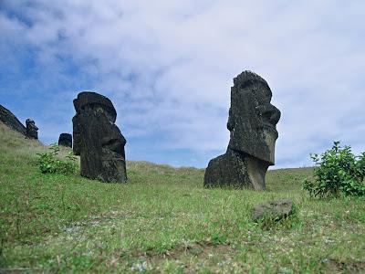 Moai Statues Picture