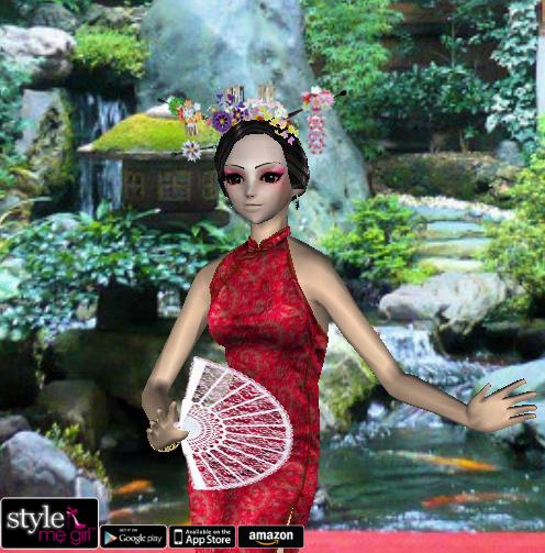 Style Me Girl Level 34 - Aoi - Oriental Charm