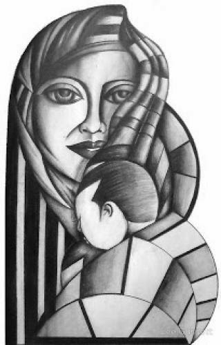 Woman And Mother Sign Of Love