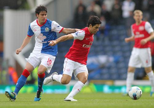 Mikel Arteta, Blackburn - Arsenal