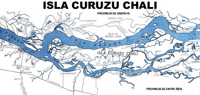 isla curuzu chali