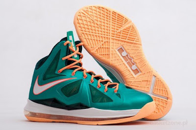 nike lebron 10 gr miami dolphins 5 05 Gallery: Nike LeBron X Miami Setting or Dolphins if you Like